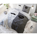 wholesale Bedlinen & Mattresses: Mr and Mrs Grey 2 200 x 220 Gray