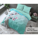 groothandel Home & Living: Cherry Blossom  Turquoise 160 x 200 Turquoise