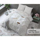 groothandel Home & Living: Angry Love Taupe 160 x 200 Taupe