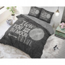 groothandel Home & Living: Moon and Back  Anthracite 160 x 200 Antraciet