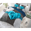 wholesale Home & Living: Garden Rose 2  Turquoise 200 x 220 Turquoise