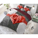 Garden Rose 2 Red 140 x 220 Rot