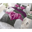 groothandel Huishouden & Keuken: Garden Rose 2 Hot Pink 140 x 220 Hot Pink