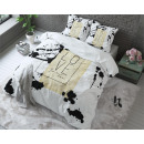 Blanc Spotted  Amour 140 x 220 blanc