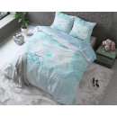 groothandel Home & Living: Bonjour Turquoise 160 x 200 Turquoise