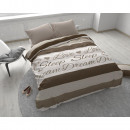 Love and Sleep  Taupe 140 x 220 Taupe