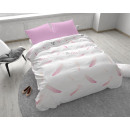 groothandel Home & Living: You and Me  Feathers Pink 140 x 220 Roze