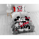 wholesale Licensed Products: Mickey and Minnie  in NYC Grey 140 x 200 Gray