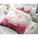 Großhandel Bettwäsche & Matratzen: GER Bleiben wir  Red 135 x 200 (deutsch) Red