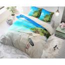 groothandel Home & Living: Beach Heron Blue 140 x 220 Blauw