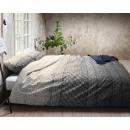 Indigo Knit Gray 240 x 200/260 Gray