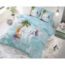 grossiste Autre: Miami Summer Blue 140 x 220 Bleu