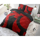 Großhandel Bettwäsche & Matratzen: Liebes-Symbole Red 140 x 220 Rot