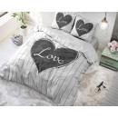 Großhandel Bettwäsche & Matratzen: Big Love Weiß 135 x 200 Weiß