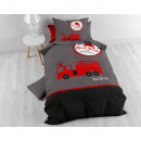 wholesale Home & Living: Fireman ta tu Red 140 x 200 Red