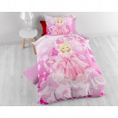 wholesale Licensed Products: Lovely Princess Pink 140 x 200 Pink