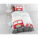 groothandel Home & Living: Small Fireman White 140 x 200 Wit