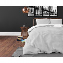 groothandel Home & Living: Twin Face White/Grey 240 x 220 Wit/Grijs