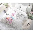 Großhandel Bettwäsche & Matratzen: Paris Splash Weiß 135 x 200 Weiß