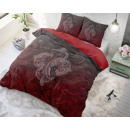 Modern Paisley Red 200 x 200 Red