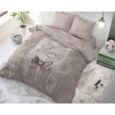 groothandel Home & Living: Strictly in Love  Taupe 135 x 200 Taupe