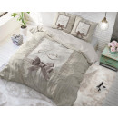 groothandel Home & Living: Strictly in Love  Cream 140 x 220 Creme