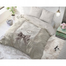 groothandel Home & Living: Strictly in Love  Cream 200 x 200 Creme