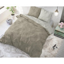 Twin Washed Cotton Taupe 140 x 220 Taupe