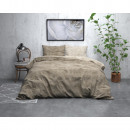 FL Twin Washed Cotton Taupe 200 x 220 Taupe