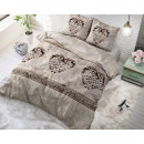 groothandel Home & Living: FL Hearts Vintage  Taupe 140 x 220 Taupe