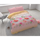 Fiori luminosi rosa 140 x 200 rosa