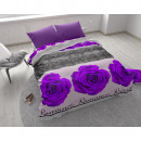 Romance Rose 3 Purple 240 x 220 Purple