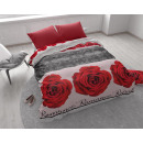 wholesale Home & Living: Romance Rose 3 Red 140 x 200 Red