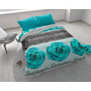 wholesale Home & Living: Romance Rose 3 Turquoise 140 x 200 Turquoise