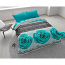 ingrosso Home & Living: Romance Rose 3 Turquoise 240 x 220 Turchese