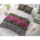 wholesale Bedlinen & Mattresses: Panther Love Taupe 200 x 220 Taupe