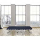 Folding Bed Bed Silver 80 x 190 Silver