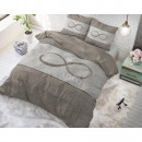 Infinity Love Taupe 240 x 220 Taupe
