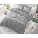grossiste Jouets: Infinity Love Grey 200 x 220 Gris