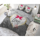 wholesale Home & Living: Wild Love 3 Gray 140 x 220 Gray