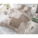 Knitted Home Taupe 200 x 220 Taupe