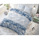 groothandel Home & Living: Shibori Tiles Blue 140 x 220 Blauw
