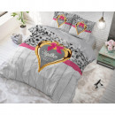 wholesale Bedlinen & Mattresses: Together Forever Gray 200 x 220 Gray