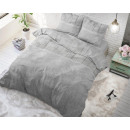 groothandel Home & Living: Wood Fabric Grey 140 x 220 Grijs
