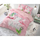 wholesale Home & Living: Sunny Flamingos Pink 200 x 220 Pink