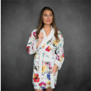grossiste Vetement et accessoires: Peignoir Aisha White Small White