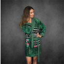 groothandel Kleding & Fashion: Badjas Zelia Green Large Groen