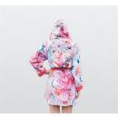 groothandel Kleding & Fashion: Badjas Rosa Pink Medium Roze