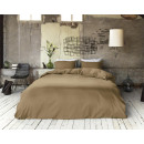 linge de lit hotellerie Taupe 240 x 200/260 Taupe