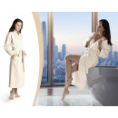 wholesale Fashion & Apparel: Bathrobe Waffle Cream Large Creme